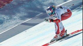 Parcours de vitesse à Grimentz-Zinal pour la relève de ski alpin