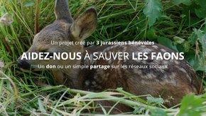 S.O.S Sauvons les faons (Jura)