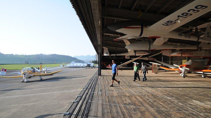 Der Flugplatz Schänis braucht ein nachhaltiges Betriebsgebäude