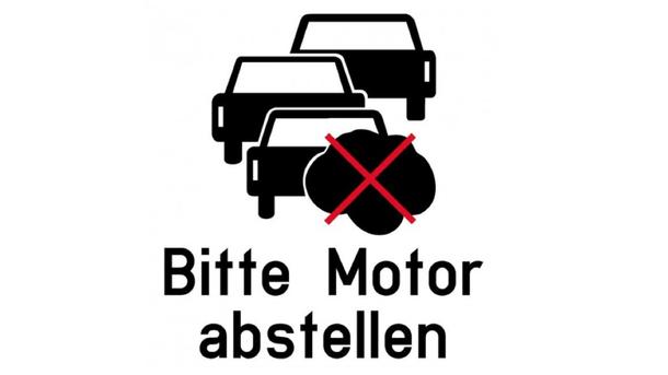 Bitte Motor abstellen