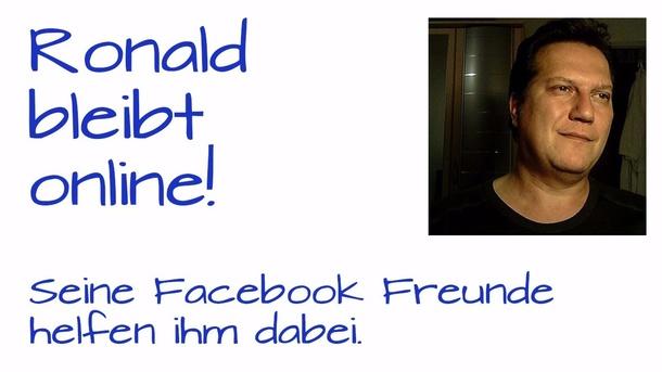 Ronald bleibt online!