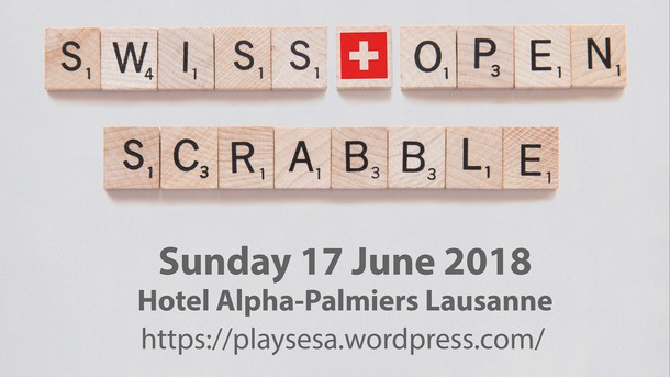 First Swiss Open Scrabble