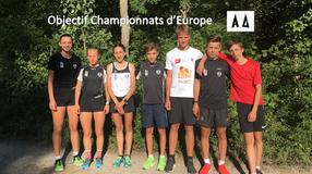 Objectif Championnats d'Europe