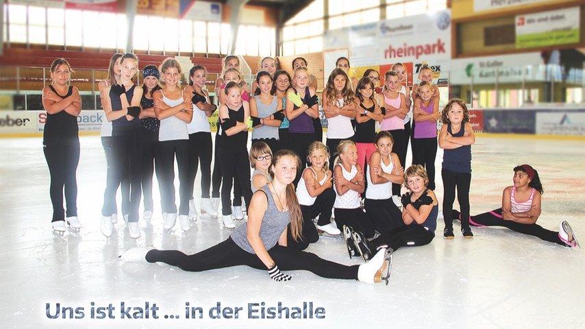 Neue Vereinsjacke für den Eislaufverein Mittelrheintal