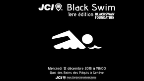 JCI Black Swim pour la fondation BLACKSWAN