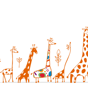 Giraffen.Schule