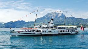 """Dampfschiff """"Stadt Luzern"""" - Generalrevision"""