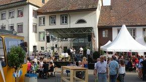Bühne für den DorfRock
