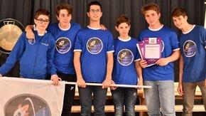 Squadra ticinese Smilebots alle finali mondiali First Lego League