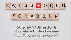 The First Swiss Open Scrabble