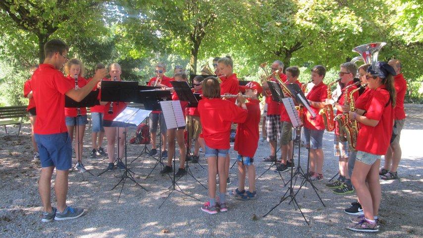 Softshelljacken Jugendmusik Niederbüren