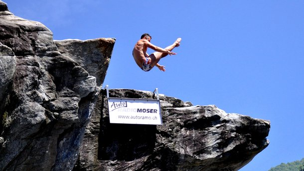 Lugano Cliff Diving