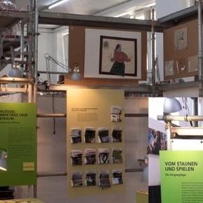 """Ausstellung """"Bauplatz Kreativität"""""""
