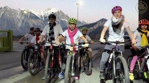 Winterbekleidung für das Bike Racing Sarganserland